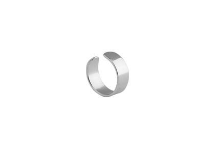 BASIC silver EAR CUFF