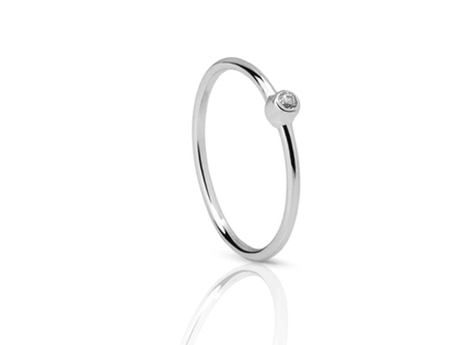 CLASS silver ring
