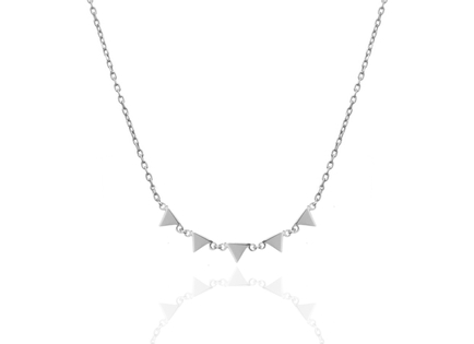 Silver necklace MER