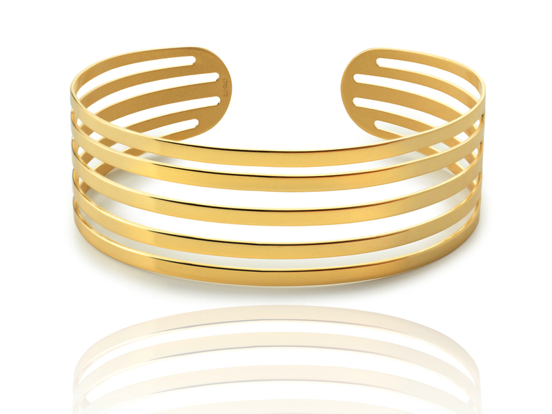 Pulsera 5 BANGLE oro