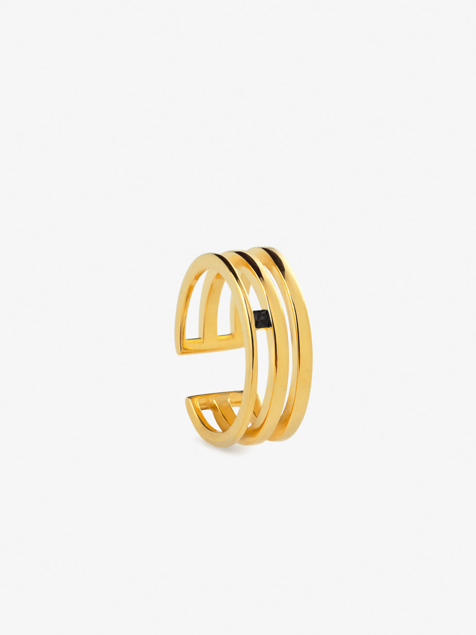 TRIPLE GOLD ring
