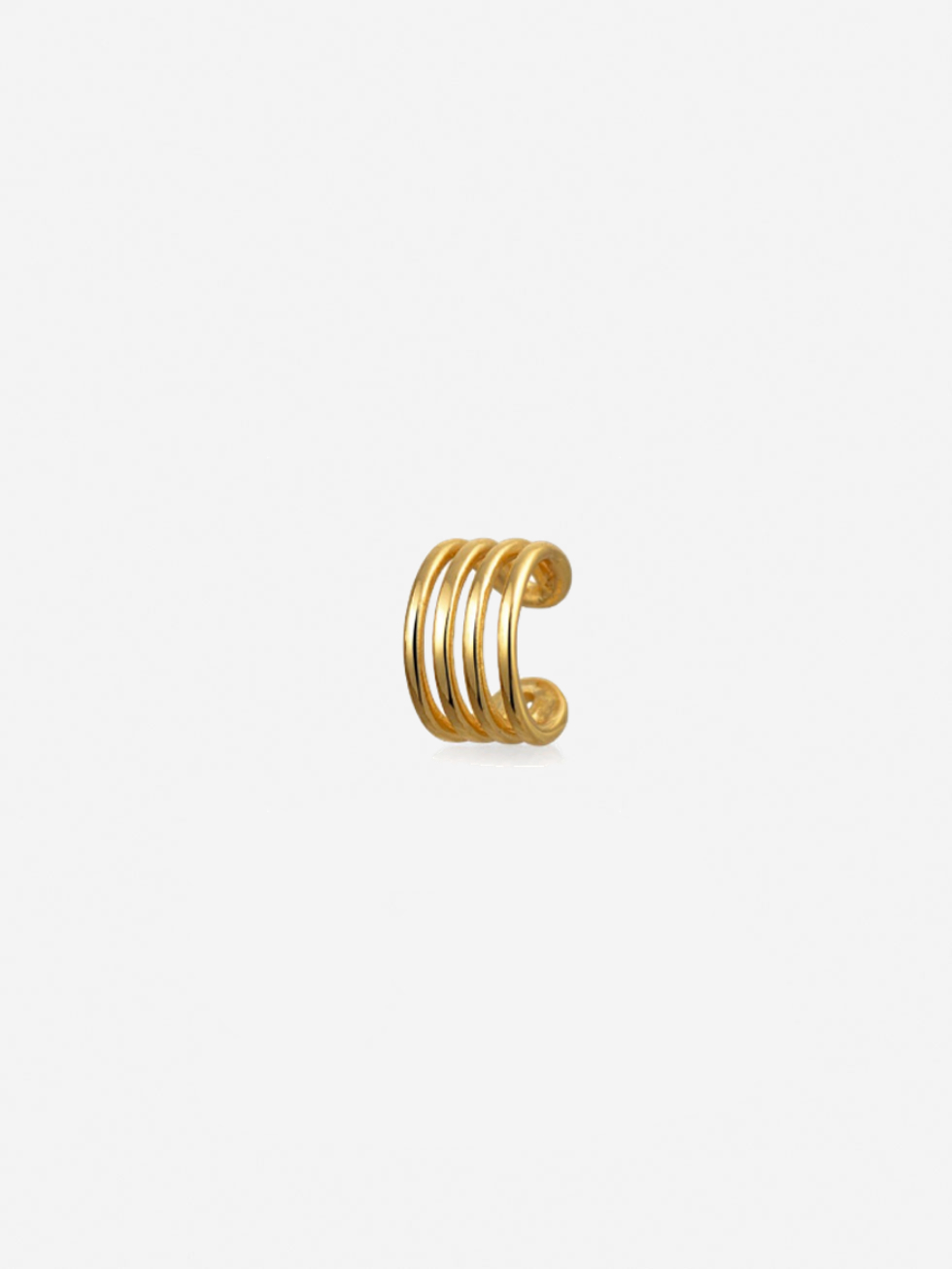 Pendientes clip gold 2