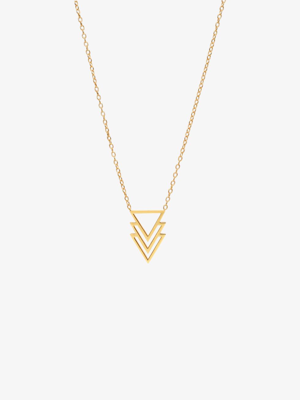 Collar three oro