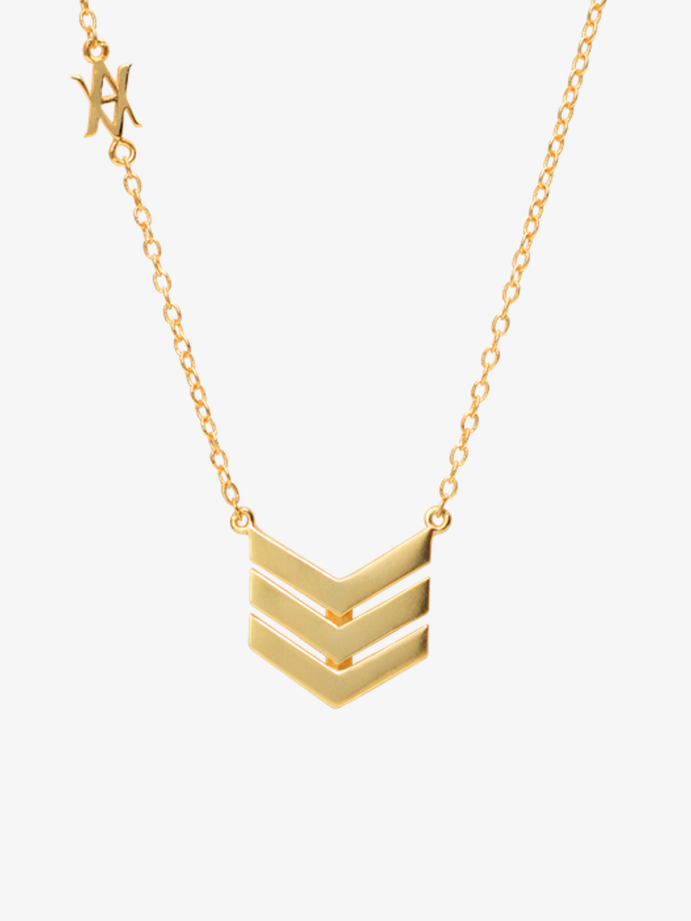 TIRS gold necklace
