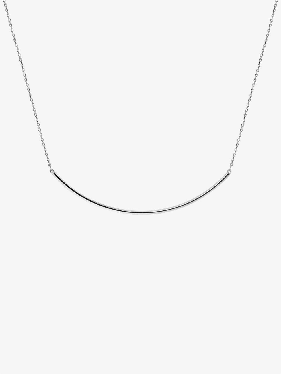 XLine silver necklace