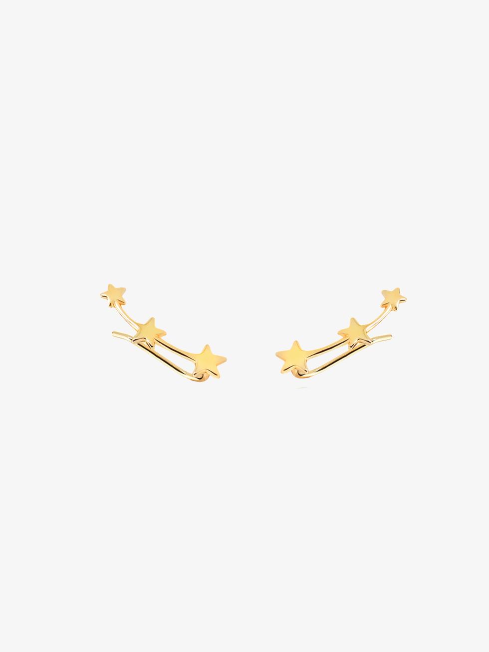 Pendientes stella gold