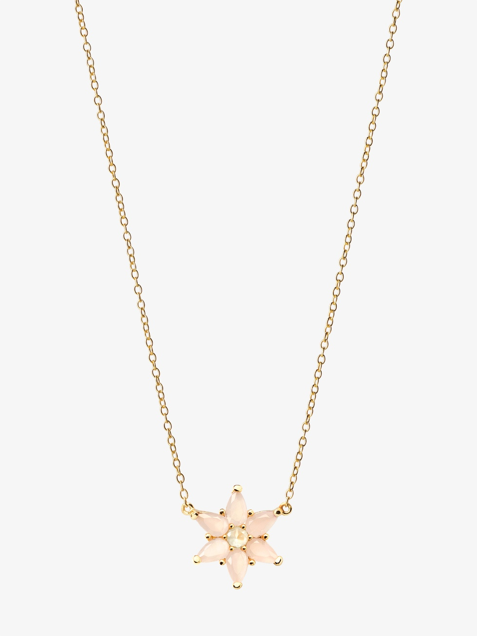 BRENETn gold necklace