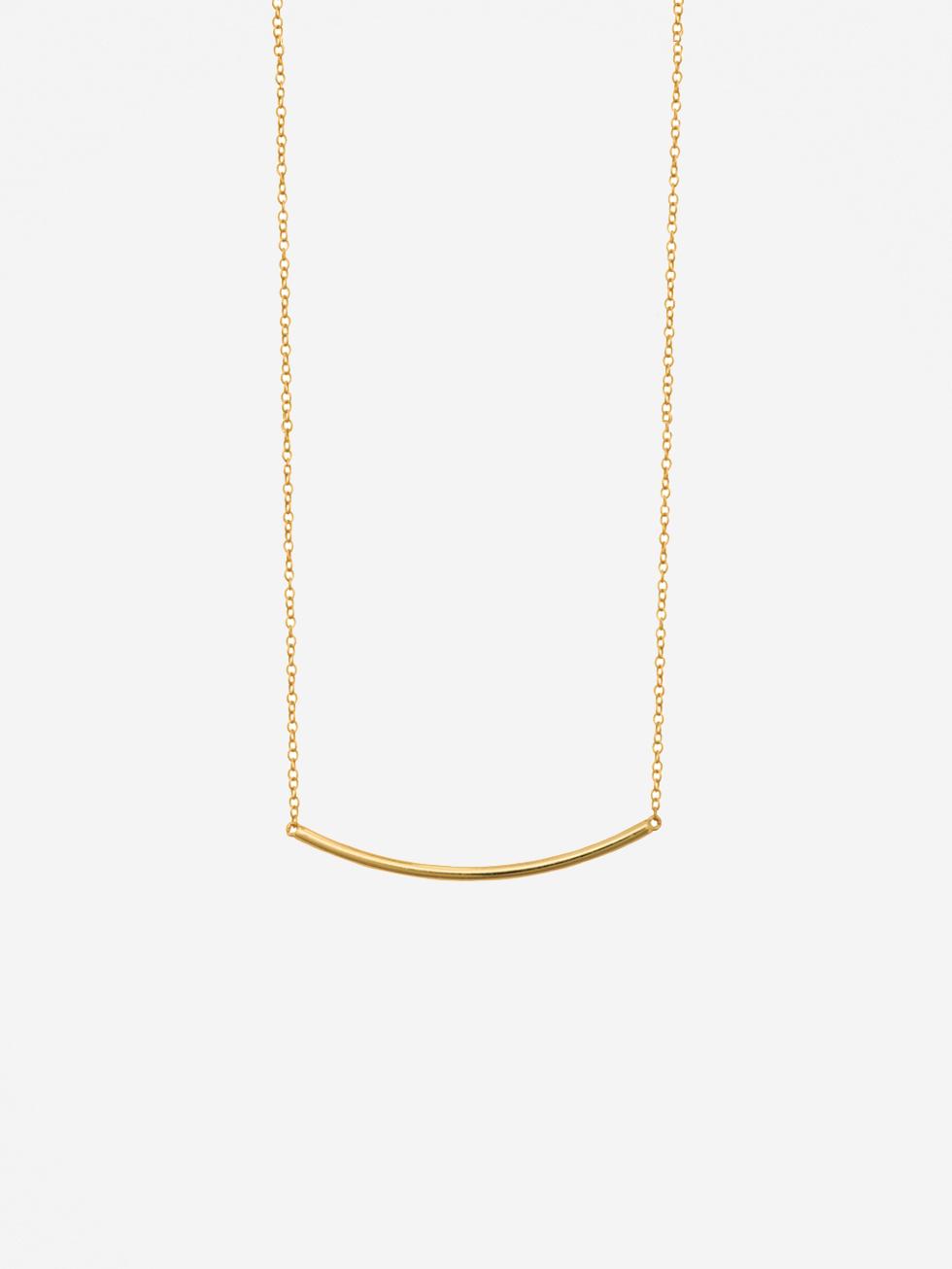 Collar line oro