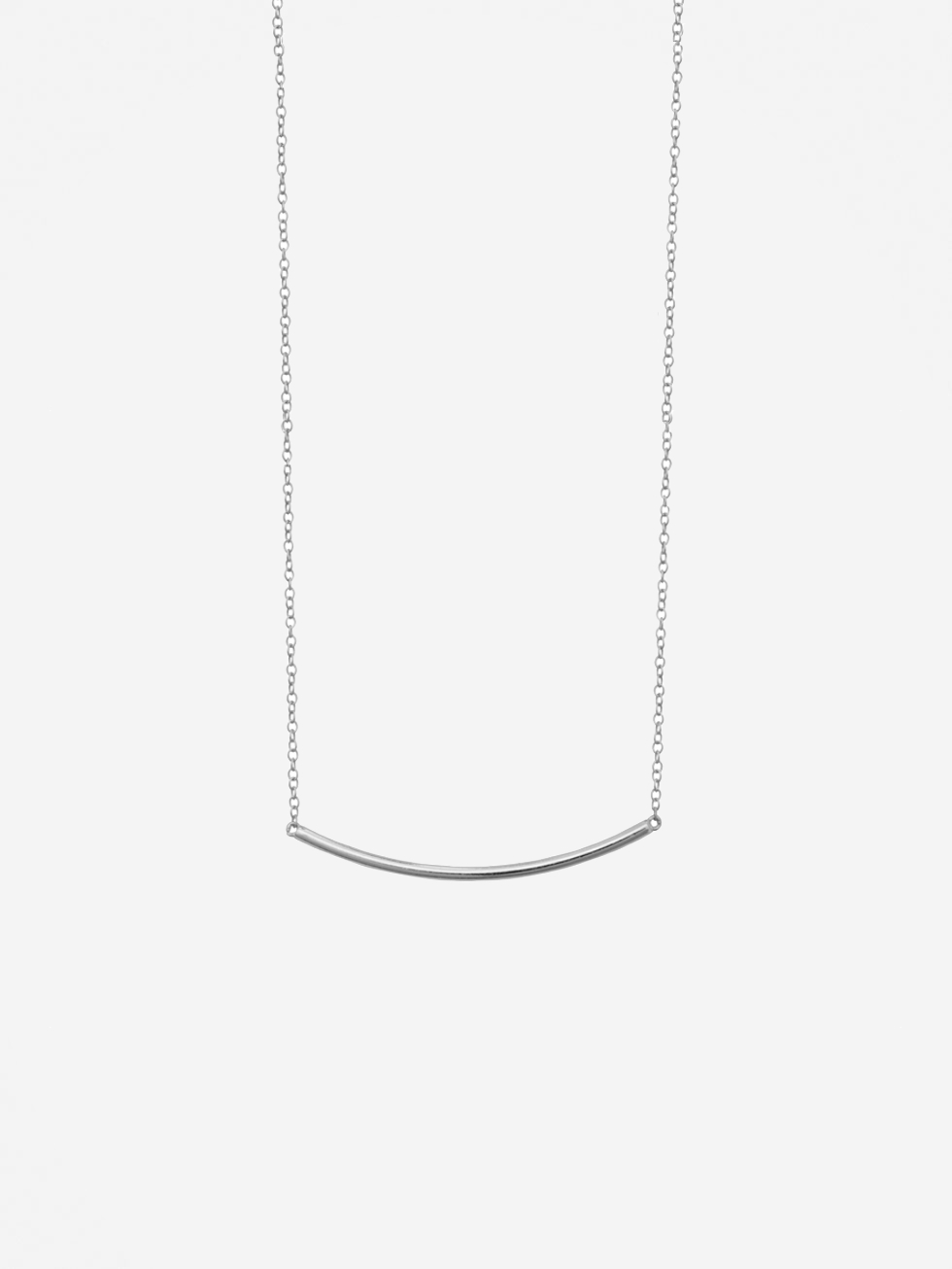 LINE SILVER necklace