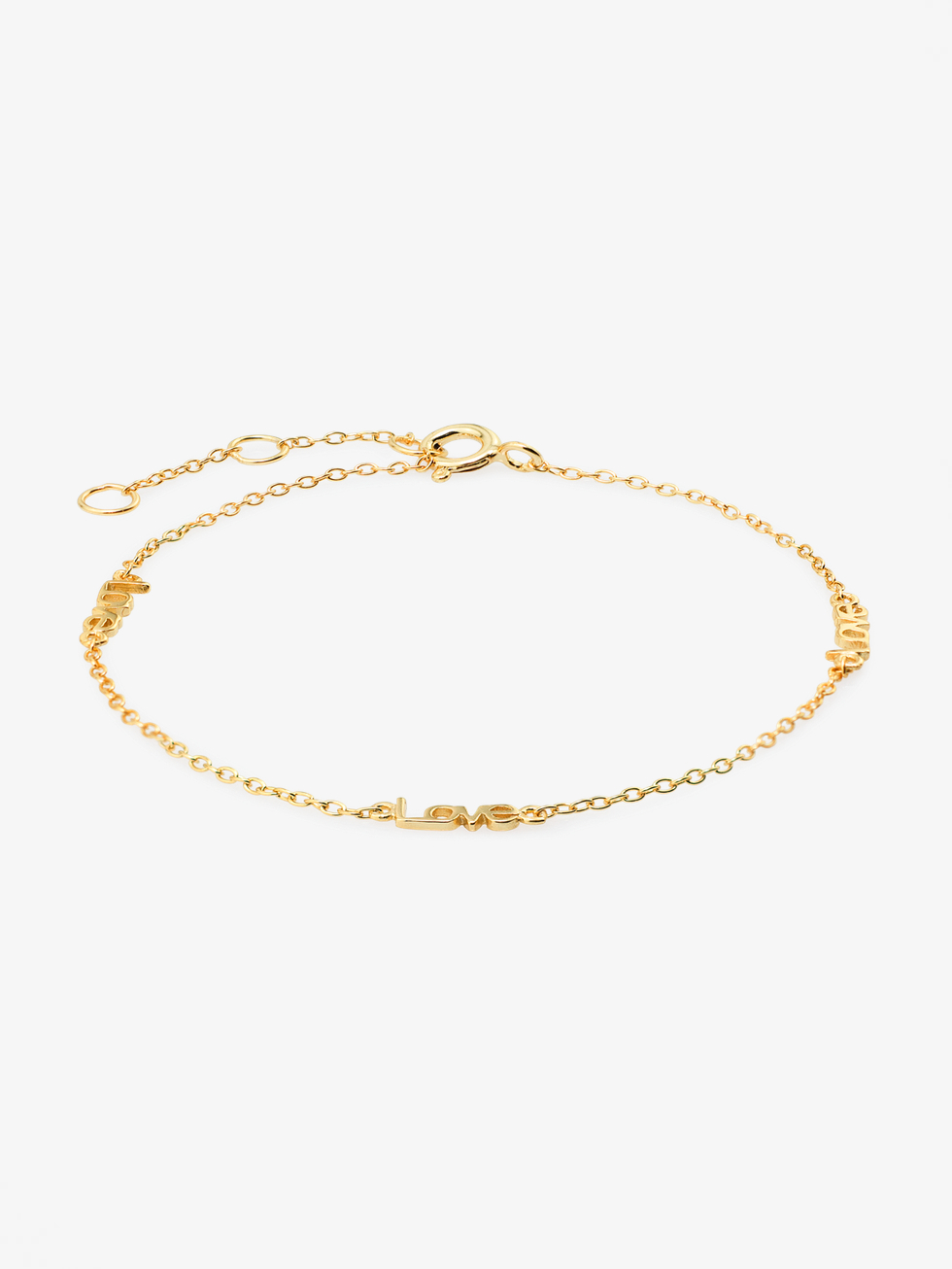 Love bracelet gold 2