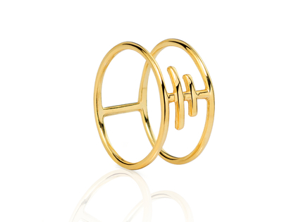 Gold TRIBE ring