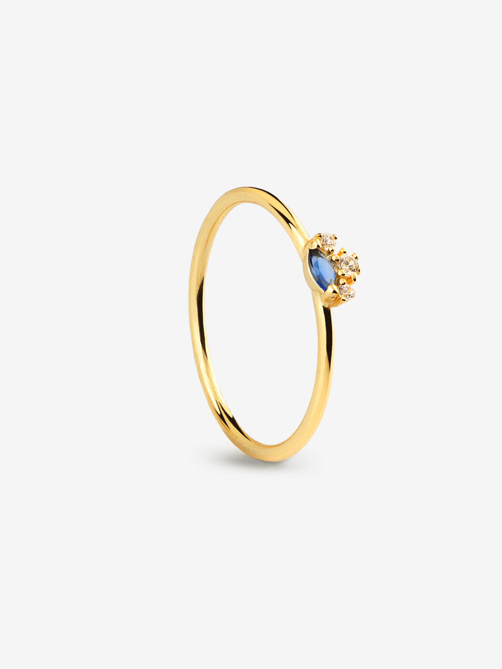 Anillo crown gold 2