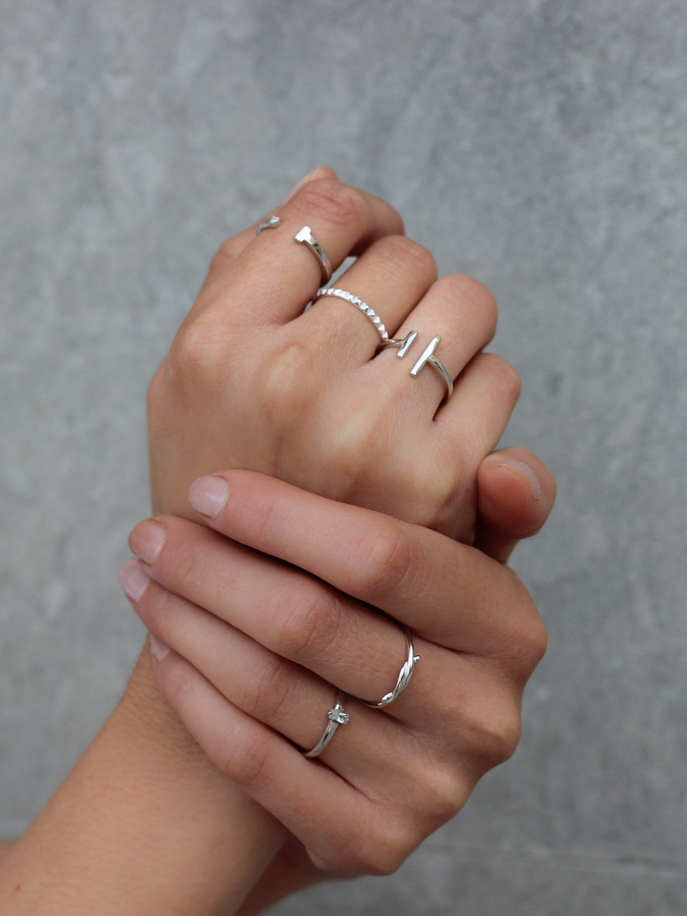 THIER silver ring