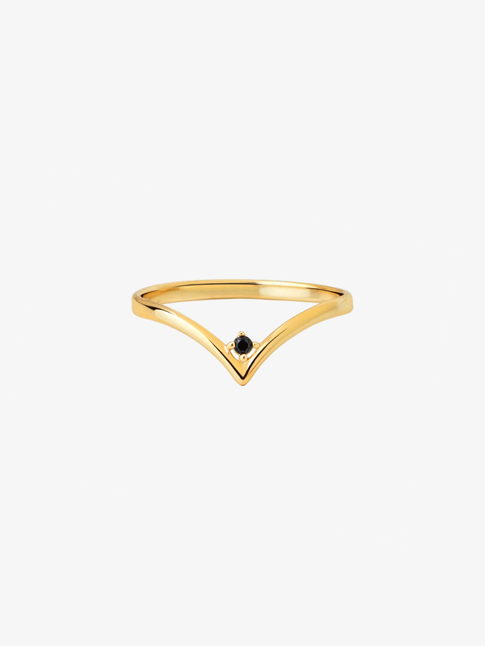 Anillo blacklace gold