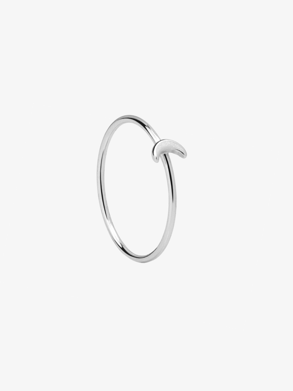 LITTLE MOON silver ring