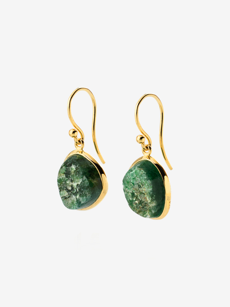 AVENTURINA stone earrings