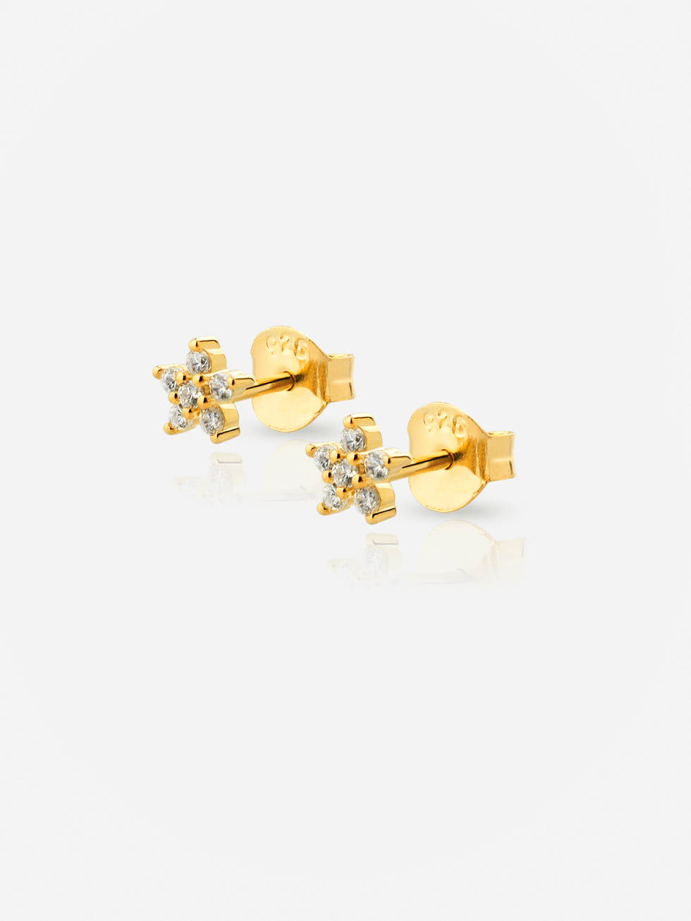 Gold plated DREAM earrings
