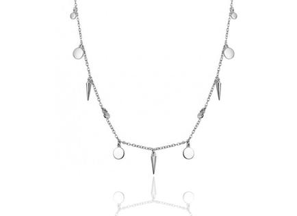 CONE silver necklace