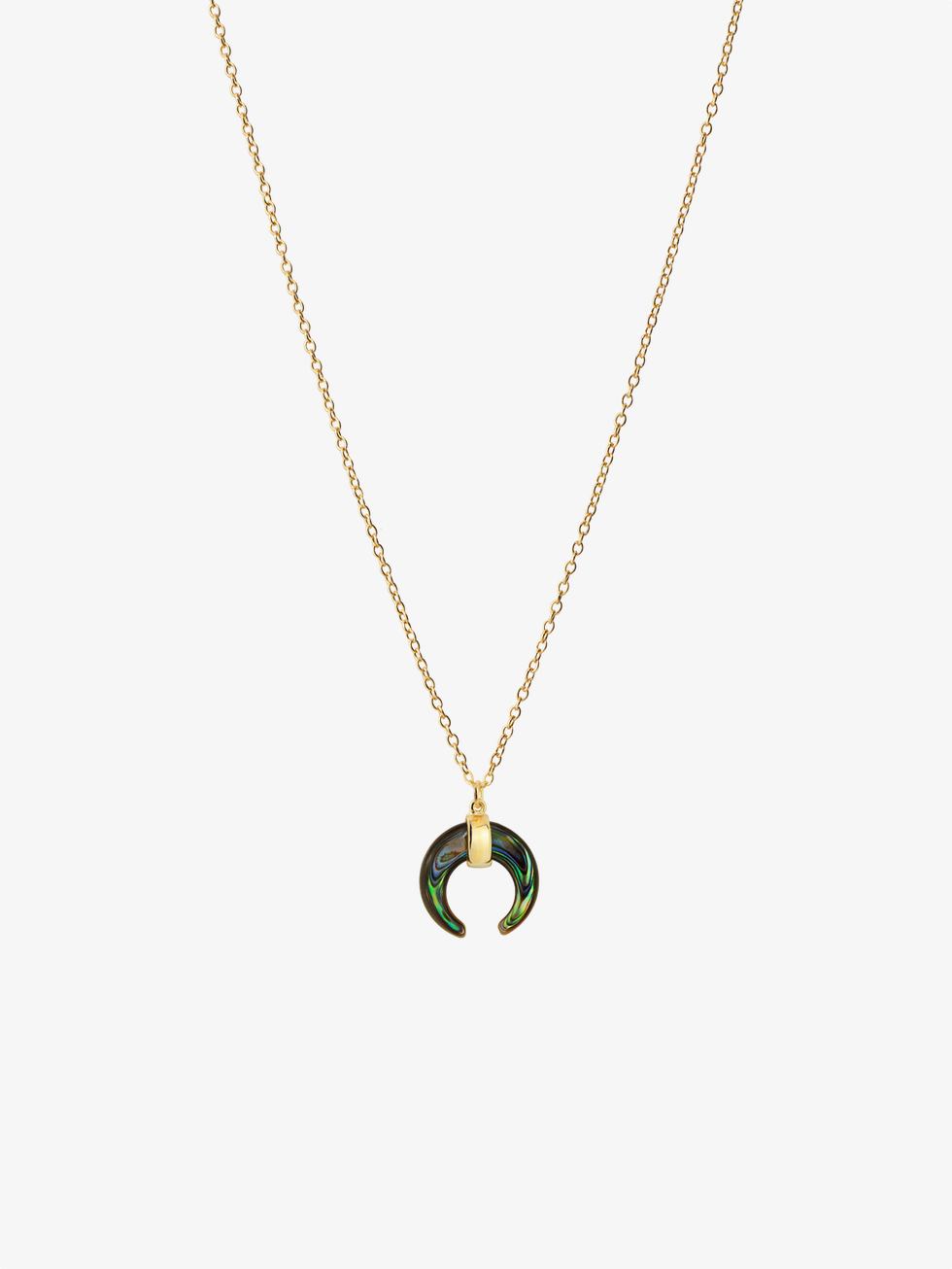 ABALON gold necklace