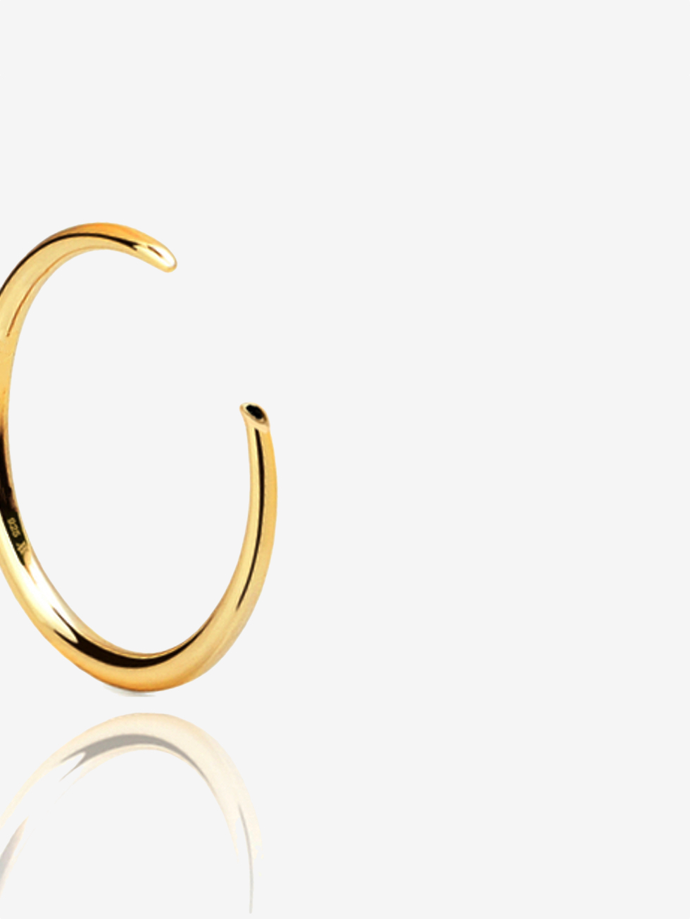 PSIC CZ gold ring
