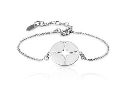 Bracelet ROSA DEL VENT argent