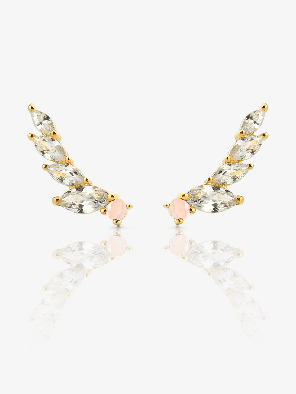 WINGS gold Earrings