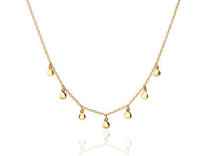 PEPITAS gold necklace
