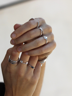 OLIVIA silver ring