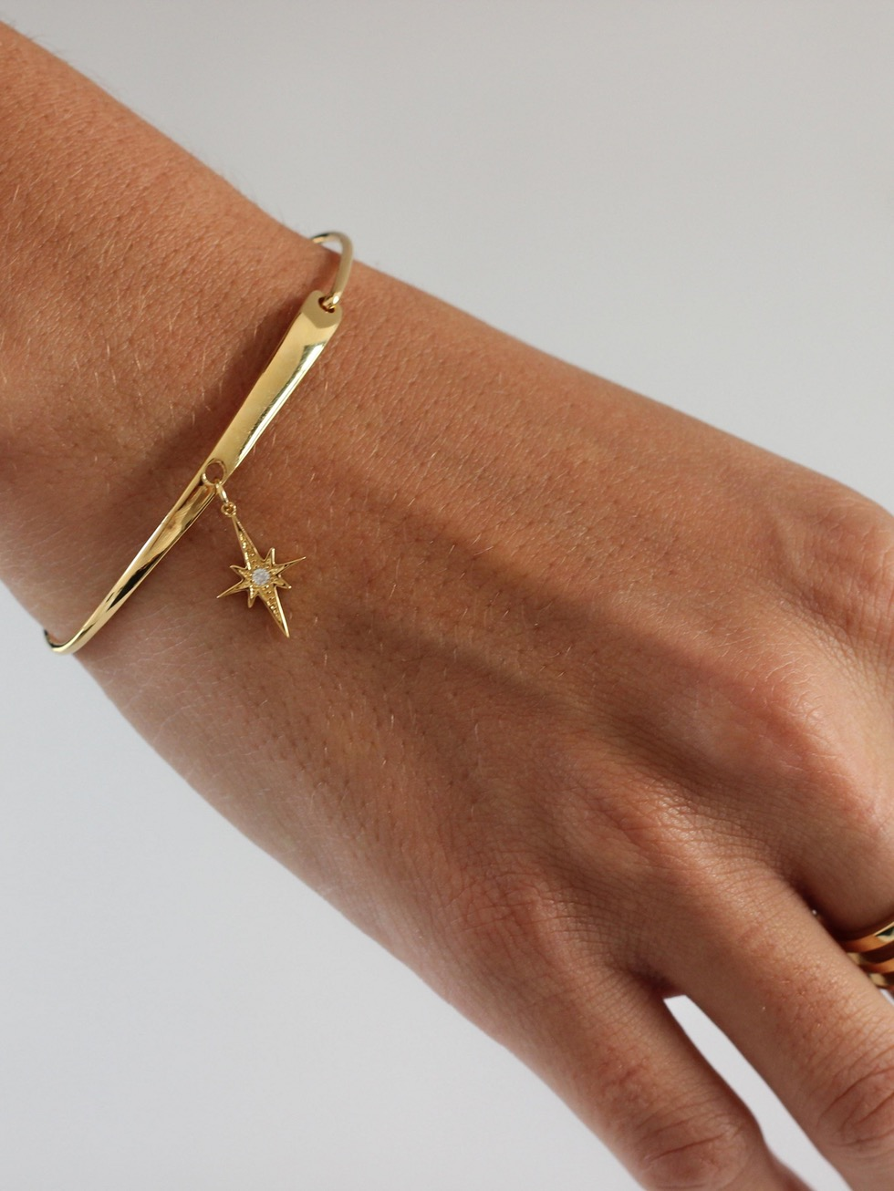 POLE STAR gold bracelet