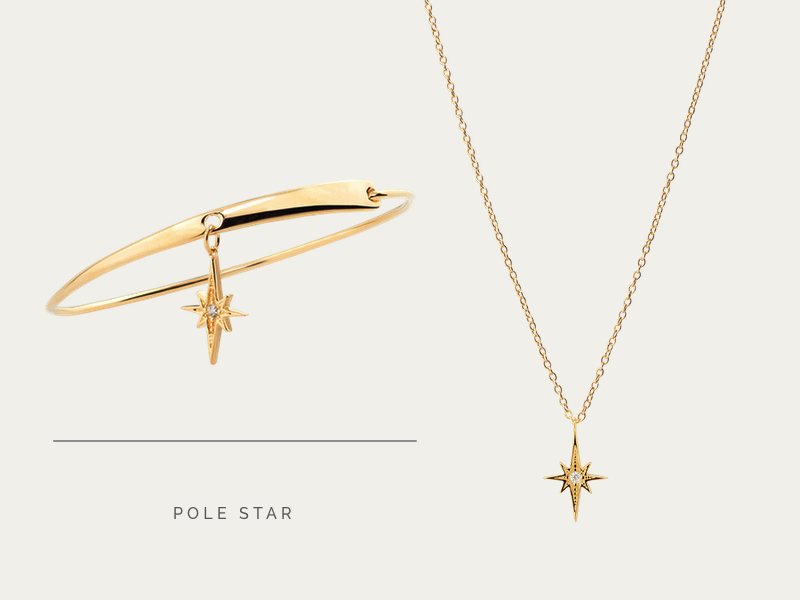 SET POLE STAR GOLD