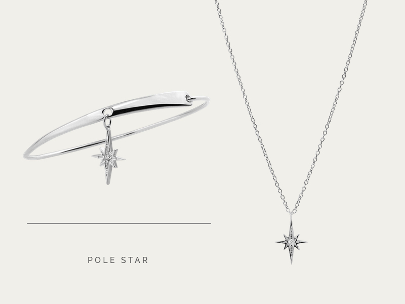 SET POLE STAR SILVER