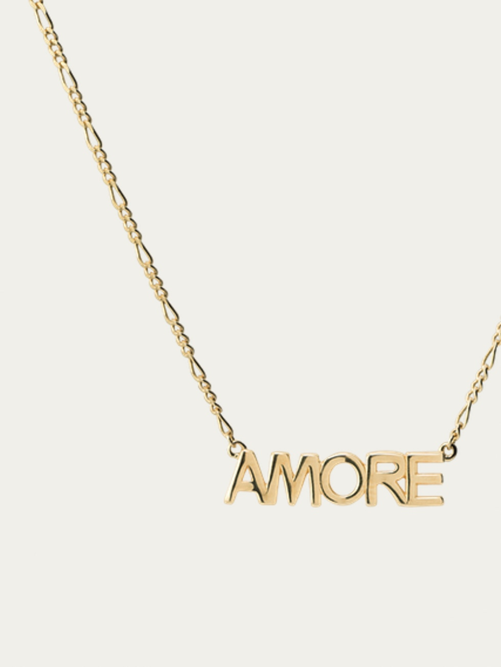 Collar amore oro zoom