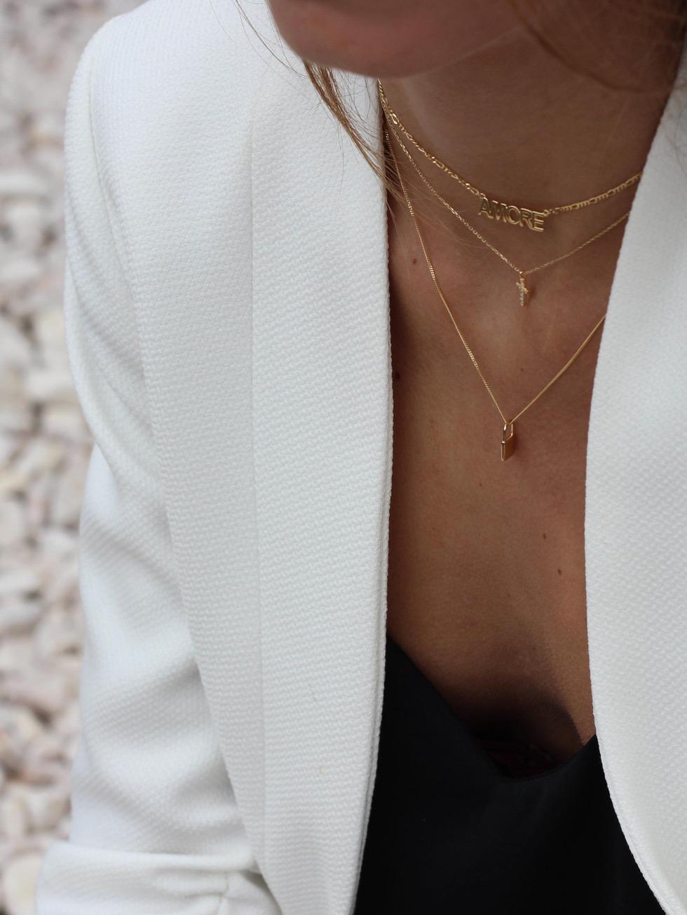 Collar cruz goldmod