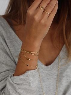 LITTLE STARS GOLD bracelet