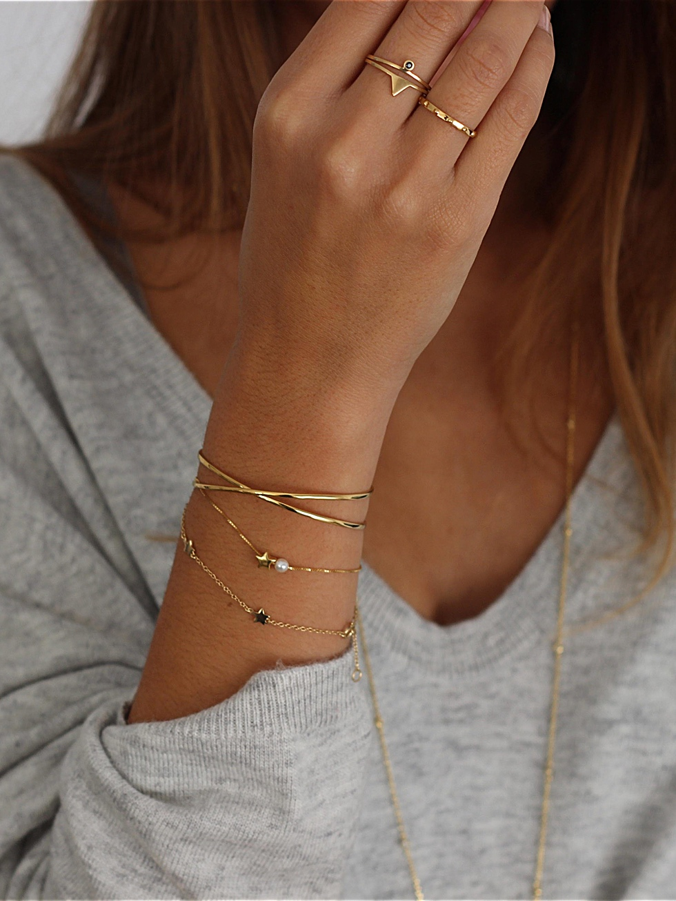 Pulsera LITTLE STARS oro