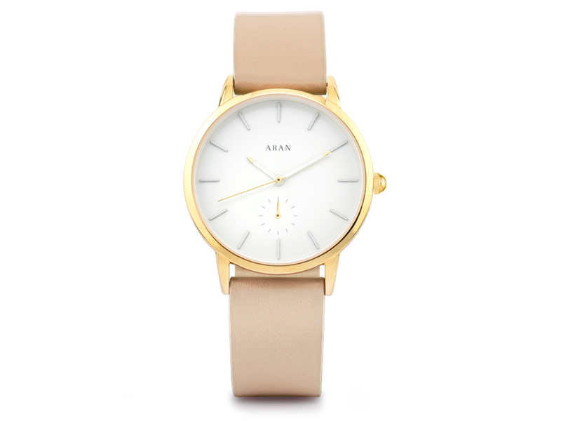 ARAN TAUPE WATCH