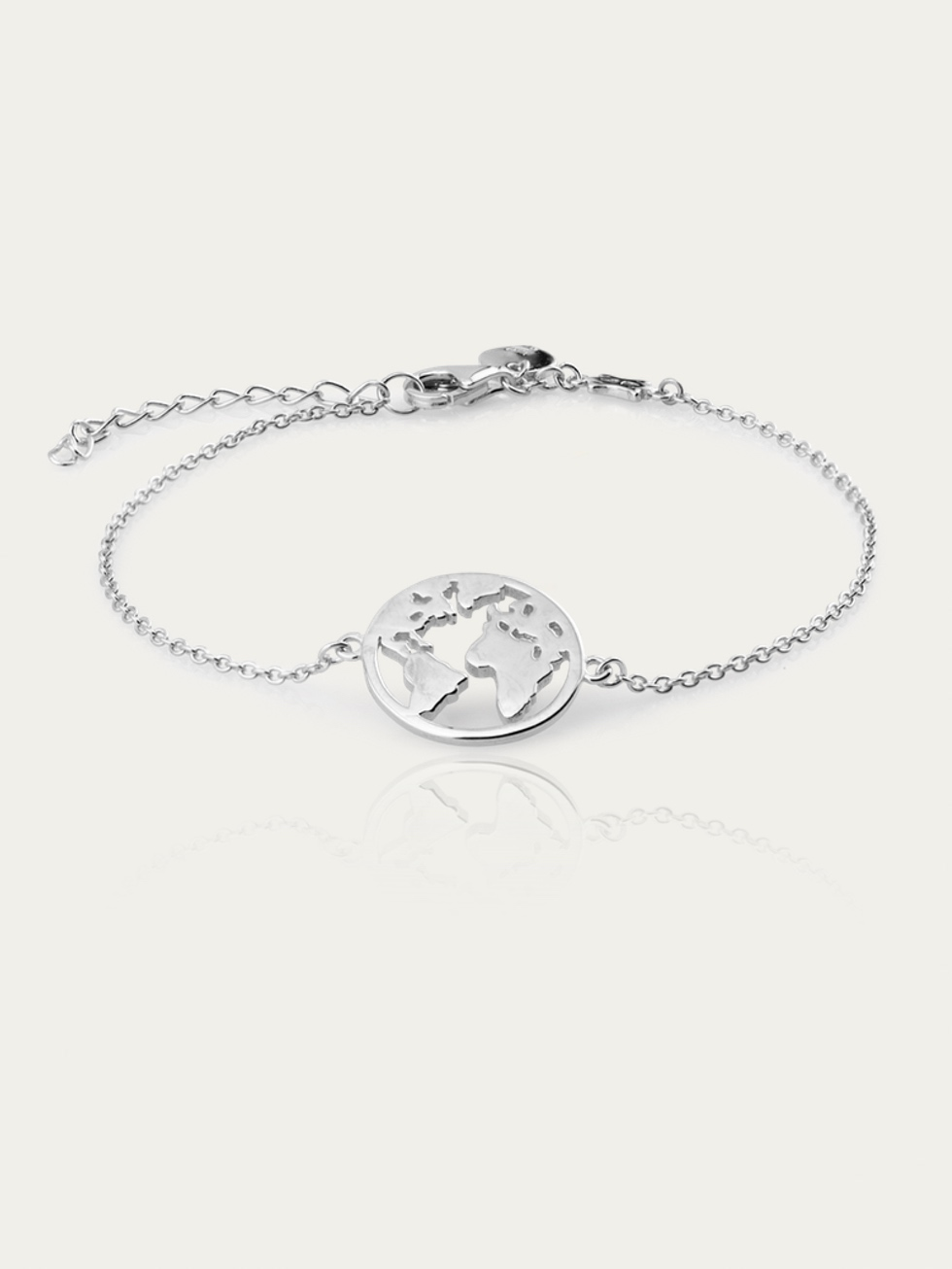 Pulsera WORLD plata