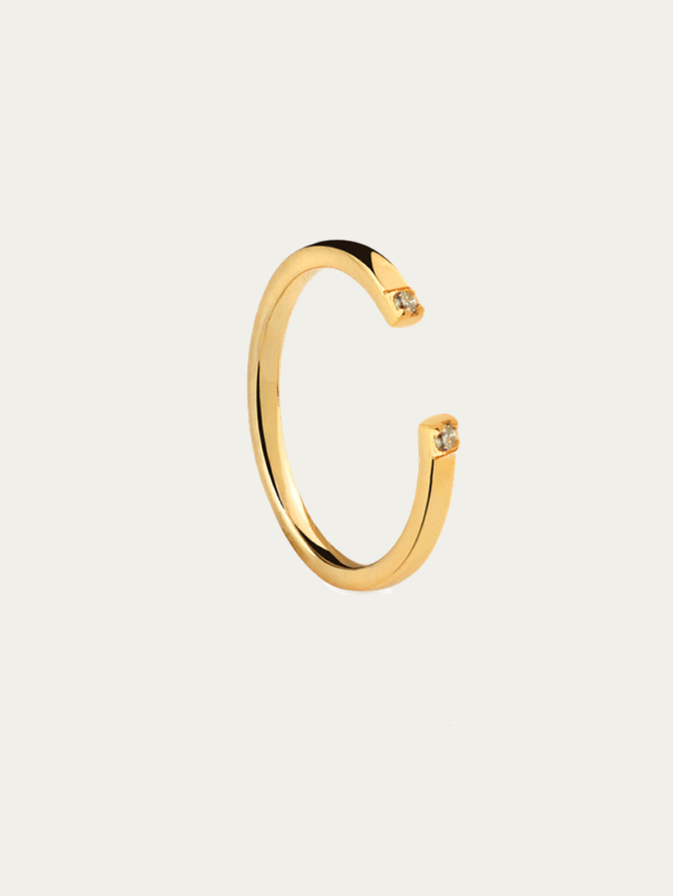 EXT CZ gold ring