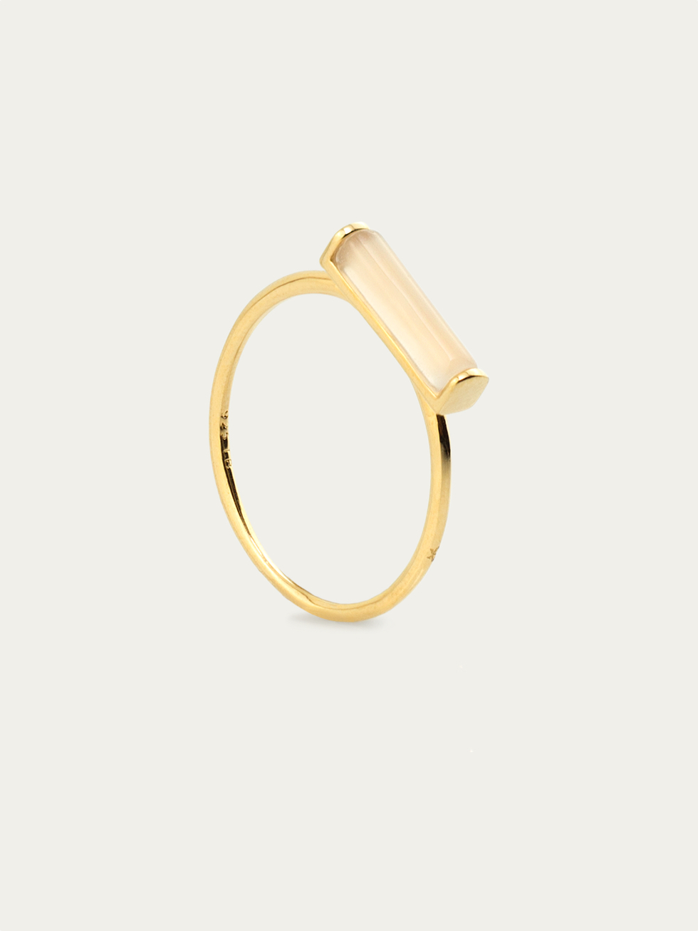 TUB gold ring