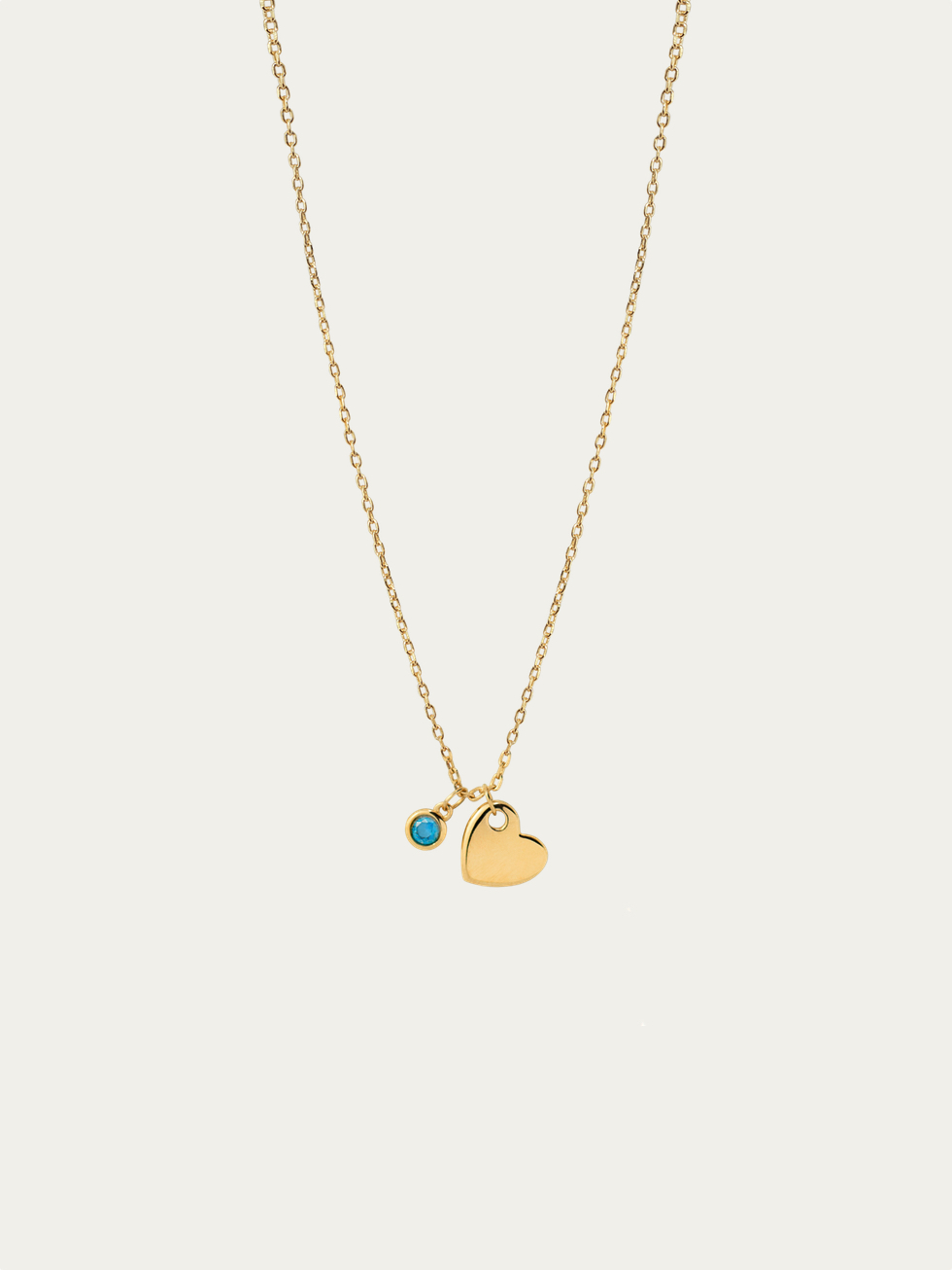 Collar heart oro 2