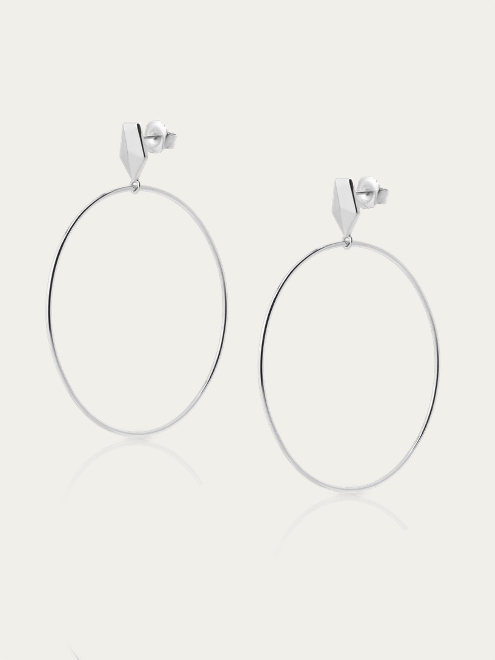 PAULA silver earrings