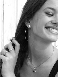 PAULA silver earrings