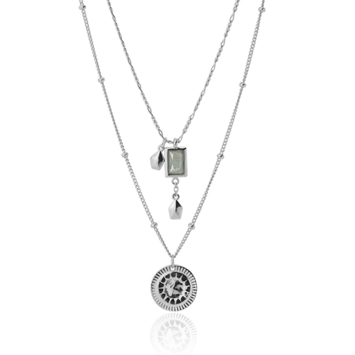 NIRVANA silver necklace