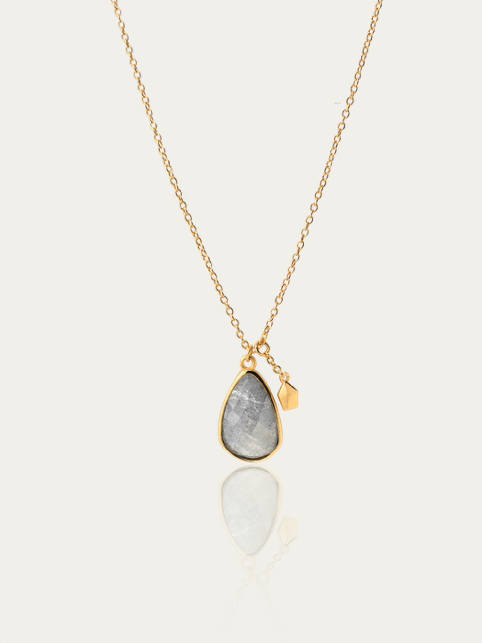 Collier LABRADORITE STONE or
