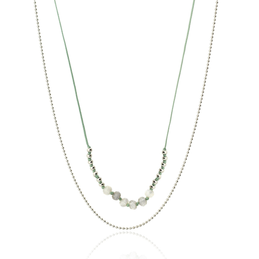 LIN silver necklace