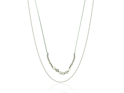 LIN silver necklace