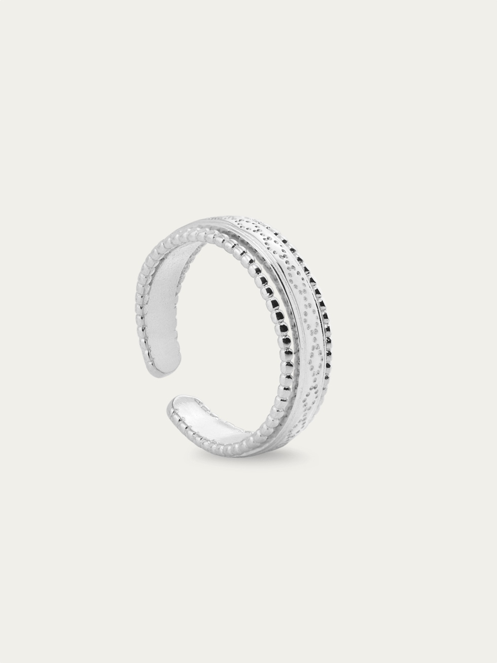 ROMA silver ring