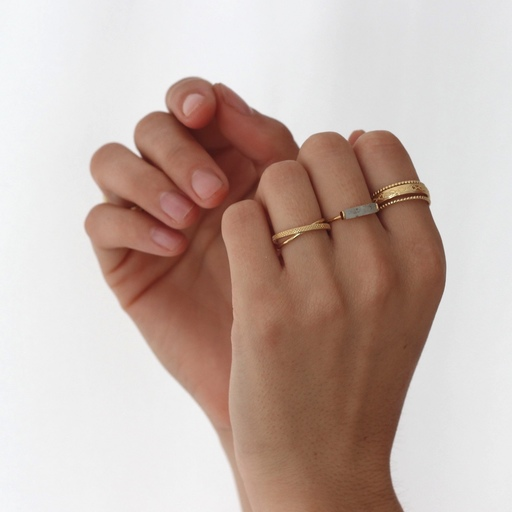 Anillo TUB LAB oro