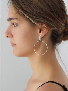 ARTILES silver earrings