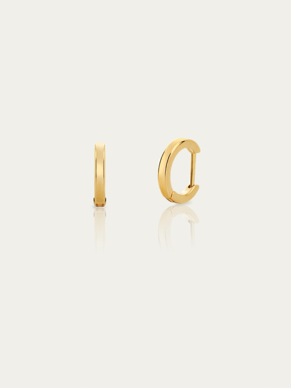 Little HOOPS gold earrings